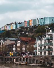 Bristol   |   Colourful Houses (JB_1984) Tags: houses housing colours river riverbank hill riveravon bristol avon england uk unitedkingdom nikon d500 nikond500