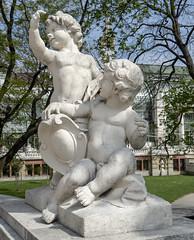 Viennese Babes (Cocoabiscuit) Tags: cocoabiscuit vienna austria ringstrasse olympus omdem5 wien burggarten bundesgarten gardens