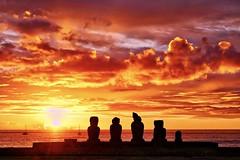 Ahu Tahai - Easter Island (michael_jeddah) Tags: easterisland chile rapanui sunset ahu ahutahai moai polynesia pacific pacificocean