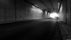 Exodus (KOSTAS PILOT) Tags: exodus tunnel light shadows contrasts bnw blackandwhite monochrome road kostaspilot sony sonyhx60 greece patras urban street silhouette ambience cinematic mist walkers walking ελλάδα πελοπόννησοσ πατρα τούνελ φωσ δρομοσ σκιέσ ασπρόμαυρη peloponese peloponnese atmosphere streetphotography