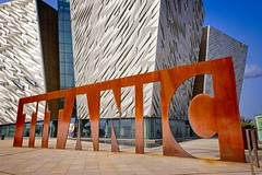 Titanic (Capture the planet) Tags: titanic belfast museum ireland ulster sign ship history nikon d850 rust rusting tourism dock dockland shipping nikkor iron tragedy disaster visitor 2470 walk walkabout tourist architecture design