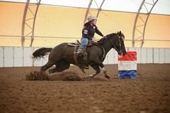 Natalee (wysharp) Tags: barrelracing cowgirl horse wyoming