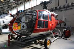 Westland Gazelle HT2 (Matt Sudol) Tags: arm air fleet helicopter engineering aeronautical of college defence dcae gosport hms navy royal westland gazelle ht2