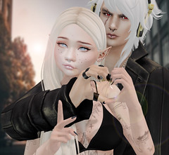 Heart (ZameNezrulain) Tags: couple love heart chaz zame secondlife sl portrait people avatar avatars photography photoshop catwa maitreya mandala glamaffair s0ng blueberry truth