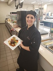 20190417_131120-chef (cafe_services_inc) Tags: cafeservice corporatedining comcastmanchester guestchef chef employee frenchcuisine plate