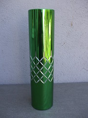 Vintage Conrah Cristillium Bright Green Aluminium Vase Mid Century Modern Made In Wales Charity / Thrift Shop Find (beetle2001cybergreen) Tags: vintage conrah cristillium bright green aluminium vase mid century modern made in wales charity thrift shop find