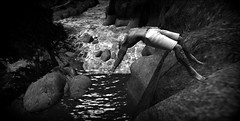 Letting Go (umshlanga.barbosa) Tags: pridigy umshlanga breathe dive cliff sea ocean male hunk rocks river tattoo keithflint