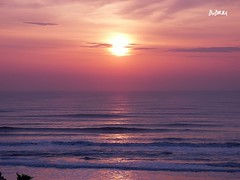 Sun rising up after a hard storm (AmenHopHis) Tags: sunrise sun beach sea amanecer dawn