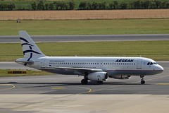 Aegean Airlines SX-DVN Airbus A320-232 cn/3478 @ LOWW / VIE 22-06-2018 (Nabil Molinari Photography) Tags: aegean airlines sxdvn airbus a320232 cn3478 loww vie 22062018