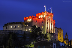 OraBlu al Castello / BlueHour at the castle (Eugenio GV Costa) Tags: approvato livorno notte castles castello night toscana outside orablu bluehour