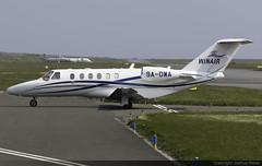 Winair Cessna 525A CitationJet 2+ 9A-DWA @ Isle of Man Airport (EGNS/IOM) (Joshua_Risker) Tags: isle man airport egns iom ronaldsway winair croatia cessna 525 c25a 525a citation citationjet cj cj2 2 9adwd