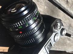 Old and new (tsutomu45) Tags: minolta md rokkor focus camera lens