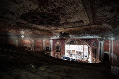 Majestic Theater Natural Light (michaelbrnd) Tags: abandoned theater st louis urbex urban exploration