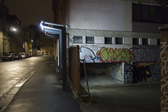 Rennes, mars 2019 (Le Cercle Rouge) Tags: rennes france night nuit darkness light graff graffiti painters handstyle streetart nocturne ruedeviarmes thabor busstop