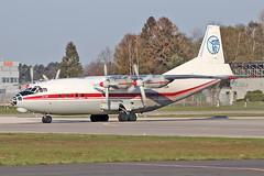 Antonov An-12BP - UR-CGW - HAJ - 17.04.2019(2) (Matthias Schichta) Tags: ukraineairalliance antonov an12 haj hannoverlangenhagen eddv urcgw planespotting flugzeugbilder
