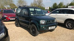 Jimny JLX (Sam Tait) Tags: jimny jlx 2001 1300 13 petrol green 4x4 suzuki small car