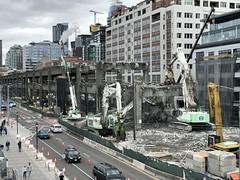 Ferry terminal view of demolition (WSDOT) Tags: seattle gp construction wsdot alaskan way viaduct replacement demolition 2019