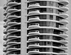 Human Habitats (FotoGrazio) Tags: roomswithaview pattern layered apartments waynesgrazio travelphotography fotograzio home architecturalphotography windows homes phototoart urban balcony monochrome habitat modernliving waynestevengrazio waynegrazio architecture balconies blackandwhite apartment building stacked