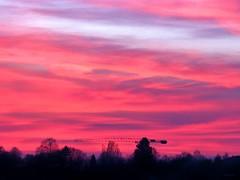 evening sky (mknt367 (Panda)) Tags: evening sky eveningsky sunrise redsky