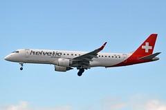 Helvetic Airways HB-JVL Embraer ERJ-190LR (ERJ-190-100 LR) cn/19000354 @ EDDF / FRA 30-04-2018 (Nabil Molinari Photography) Tags: helvetic airways hbjvl embraer erj190lr erj190100 lr cn19000354 eddf fra 30042018
