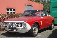 Alfa Romeo 1750 GTV 6-2-1970 AH-93-68 (Fuego 81) Tags: alfa romeo 1750 gtv 1970 ah9368 rally classic car dealer classicjob dalfsen netherlands