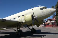 Douglas C-47B N231GB (707-348C) Tags: riverside flabob california riversideflabob krir 2019 airliner propliner piston douglasdc3 c47 dc3 c47b n231gb dakota douglasc47b douglas usa historical primer