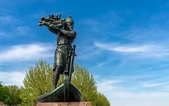 Hagendenkmal an der Rheinpromenade in Worms (venator.photonae) Tags: hagen denkmal monument worms city rhein rheinlandpfalz rhine rhinelandpalatinate