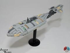 DSC_1390 (Jorstad Designs, LLC) Tags: lego star wars rebel alliance fleet mon calamari scale moc ucs jorstad designs llc mc80a mc80b home one liberty cruiser class hammerhead corvette mc30c frigate dp20 blockade runner