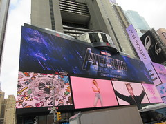 Avengers Endgame Electric Billboard Times Square 6381 (Brechtbug) Tags: avengers endgame steve rogers captain america thor iron man black widow the hulk super soldier marvel shield guardians galaxy comic book hero times square electric billboard movie poster 04172019 theatre holiday ornaments chris evans robert downey jr mark ruffalo hemsworth scarlett johansson 34th street new york city 2019 nyc standee thanos bad guy electronic brie larson carol danvers vers end game