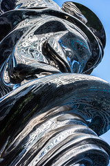 reflecting with thomas hawk (pbo31) Tags: sanfrancisco city nikon d810 color april 2019 boury pbo31 spring art soma silver reflection giant venus courtyard missionstreet