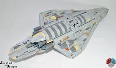 DSC_1354 (Jorstad Designs, LLC) Tags: lego star wars rebel alliance fleet mon calamari scale moc ucs jorstad designs llc mc80a mc80b home one liberty cruiser class hammerhead corvette mc30c frigate dp20 blockade runner