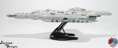 DSC_1346 (Jorstad Designs, LLC) Tags: lego star wars rebel alliance fleet mon calamari scale moc ucs jorstad designs llc mc80a mc80b home one liberty cruiser class hammerhead corvette mc30c frigate dp20 blockade runner