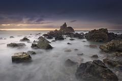 Meñakoz (Rafael Díez) Tags: españa paisvasco vizcaya meñakoz paisaje agua mar rafaeldíez atardecer filtro sunset nubes largaexposición