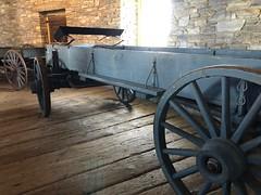 Farm wagon (Foxy Belle) Tags: hancock shaker village round stone barn ma historic site united states america usa antique wagon 19th century farm equipment old 1800s