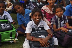 WFABTS08485 (Wisdomforasia) Tags: backpacks backtoschool wisdomforasia village children helping schoolsupplies