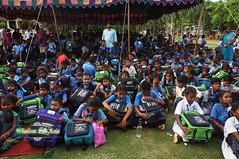 WFABTS08480 (Wisdomforasia) Tags: backpacks backtoschool wisdomforasia village children helping schoolsupplies