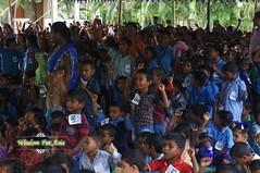 WFABTS08412 (Wisdomforasia) Tags: backpacks backtoschool wisdomforasia village children helping schoolsupplies