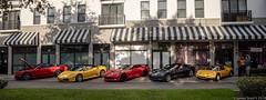 20190417 5DIV Baciami 7 (James Scott S) Tags: boyntonbeach florida unitedstatesofamerica baciami horsepower happy hour cars ferrari corvette c7 canon 5div dusk