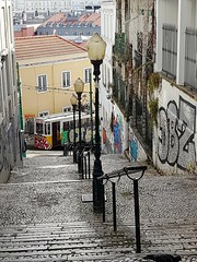 Up down... (Antónia Lobato) Tags: funicular lavra updown lisboa lisbona lissabon lisbonne lisbon portugal