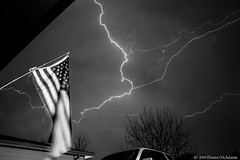 Lightning Bat - BnW Edit (Uncharted Sights) Tags: thunderstorm 17th lightning april 2019 thunder storm severe sky weather chase colorado canon exposure skies night long flash tamron 1750 commerce city denver atmosphere power adventure nature