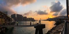 #sunset #日落 #HK #hongkong #city #seaside (Angela_Lui) Tags: sunset 日落 hk hongkong city seaside