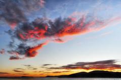 2016-07-14 Sunset (03) (2048x1360) (-jon) Tags: anacortes skagitcounty skagit washingtonstate washington salishsea fidalgoisland sanjuanislands pugetsound guemeschannel pnw pacificnorthwest northwest pacific ocean sky sunset sun water red cloud clouds summer d90archives a266122photographyproduction
