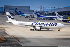[KIX.2013] #Finnair #AY #Airbus #A330 #OH-LTM #awp (CHRISTELER / AeroWorldpictures Team) Tags: finnair ay fin european airliner finland ge cf6 engines ohltm fwwko metsänväki gecas plane aircraft airplane avion aviation aeroworldpictures avgeek spotter christeler spotting planespotting osaka kansai kix japan pushback rjbb nikon d300s nef raw nikkor 70300vr lightroom