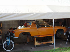 the 'Lil 914 feels neglected (Up date photos of Donnie's latest projects) (ATOMIC Hot Links) Tags: slicks kool hotrod hotrods gearhead wicked engine motors flatheads streetrods hotwheels customs kustom rods prostreet car classics classictrucks carshow ratfink speed fast piston camshaft chrome flames dragrace dragracing oldschool mechanic customize metal metalwork fabrication fabricate shine polish reflections gassers garage art nitro topfuel chopped low gears bing wrench hopup mags et traction dragsters dragster roadster rodworks grind machines rides soulrydah crankshaft bigblock smallblock torque power ipernity yahoo google atomichotlinks hot