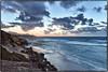 Sunrise, Poipu Cliffs, Kauai. (drpeterrath) Tags: poipu kauai hawaii sun sky clods waterr waves ocean rocks sunrise sunset color canon eos 5dsr goldenhour