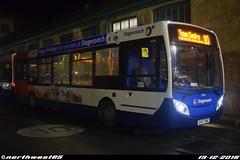 36036 (northwest85) Tags: stagecoach worthing gx57 bhz 36036 alexander dennis adl enviro 200 dart 4 10 town centre bus depot gx57bhz