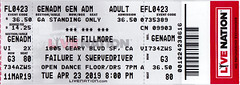 042319 (gloomboy) Tags: failure swervedriver live fillmore sf 2019