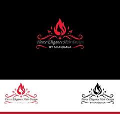Print (Ultra Creators) Tags: hair logo glitter design sparkle parlor fire black ultra creators