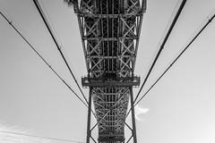 Ponte 25 de Abril - April 25th Bridge - Lisbon, Portugal (Bela Lindtner) Tags: lisbon lisboaregion portugal lindtnerbéla belalindtner nikon d7100 nikond7100 nikkor 18105 nikkor18105 nikon18105 lisboa lisszabon portugália bridge ponte25deabril april25thbridge blackwhite blackandwhite bw outdoor outside