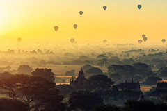Bagan (Patrick Foto ;)) Tags: awe backgrounds beauty beautyinnature cultures famousplace scenicsnature sunrisedawn templebuilding traveldestinations above adventure ancient architecture asia bagan buddha buddhism dawn dusk fog hotairballoon landscapescenery monastery morning myanmar nature old outdoors pagoda religion silhouette sky spirituality stupa sun sunset tourism tradition travel twilight wind mandalayregion